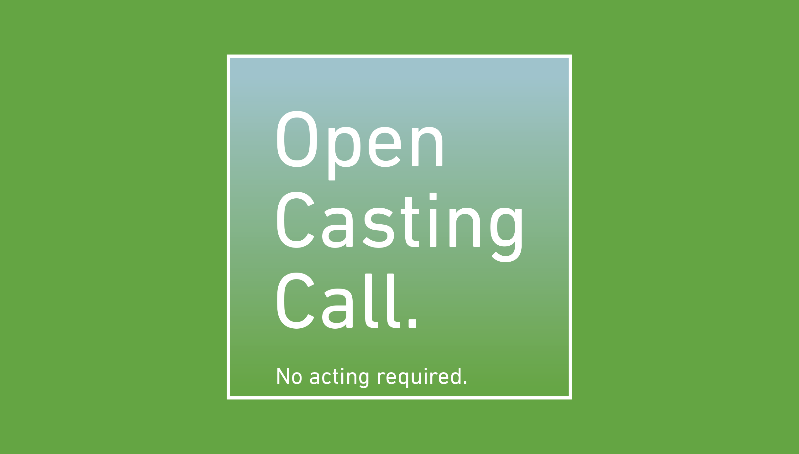 Casting call, TV production, pilot episode, Video production collingwood, video marketing, TV Production